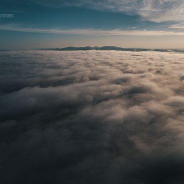 Arkansas Mountains Aerial Photo Montage