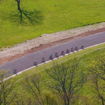 Ozark Drones Bike Race Aerial