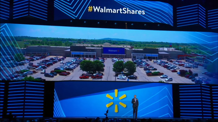 Ozark Drones Footage at Walmart Shareholders Meeting